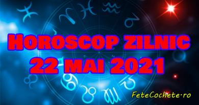 Horoscop 22 mai 2021. Balanțele vor avea o discuție interesantă, iar Scorpionii vor avea de finisat unele proiecte