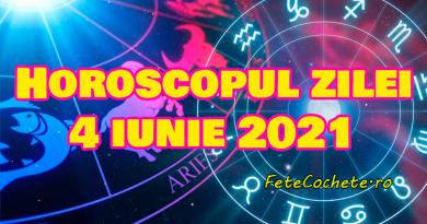 Horoscop 4 iunie 2021. Vărsătorii vor avea explozie de emoții, iar Peștii se vor implica într-un proiect