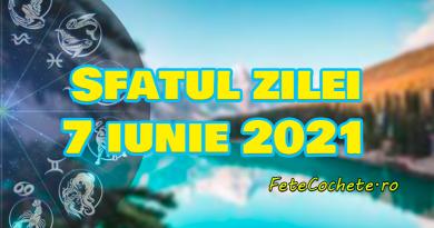 Sfatul zilei 7 iunie 2021. Peștii ar trebui să găsească noi soluții pentru vechile probleme