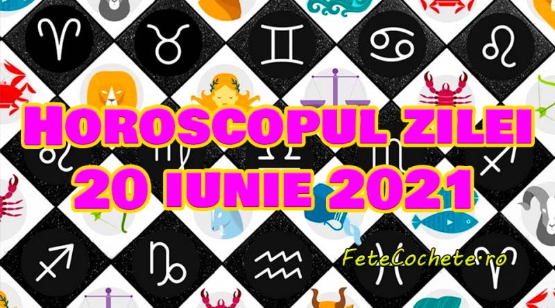 Horoscop 20 iunie 2021. Scorpionii vor avea o zi mai dificilă, iar Săgetătorii vor fi creativi