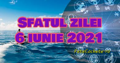 Sfatul zilei 6 iunie 2021. Peștii ar trebui să găsească noi soluții pentru vechile probleme