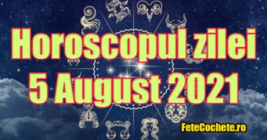 Horoscop 5 August 2021. Berbecii vor avea o stare de sănătate bună, iar Taurii au șansa să-și găsească a doua jumătate
