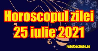 Horoscop 25 iulie 2021. Gemenii vor fi remunerați, iar Racii se vor bucura de un lucru