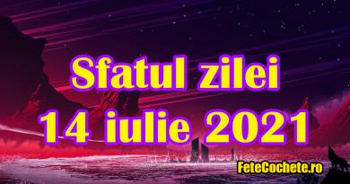 Sfatul zilei 14 iulie 2021. Racii trebuie să-și controleze emoțiile, iar Leii să nu se lase provocați