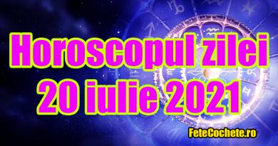 Horoscop 20 iulie 2021. Balanțele vor ieși din zona de confort, iar Scorpionii vor fi grăbiți și insistenți