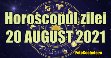 Horoscop 20 August 2021. Vărsătorii vor interacționa mult cu banii, Peștii vor avea de rezolvat unele treburi urgent