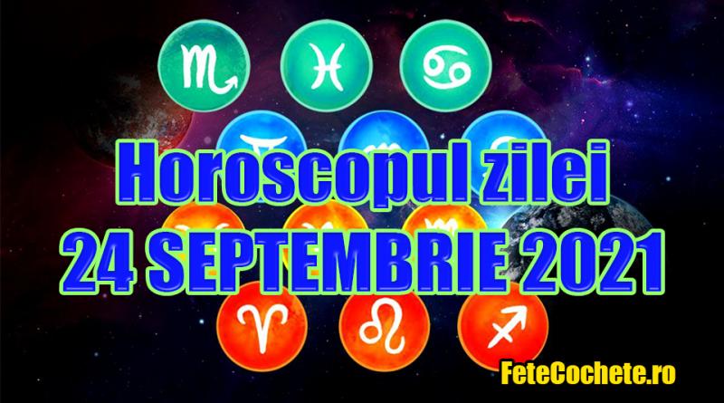 Horoscop 24 Septembrie 2021. Scorpionii vor avea noroc la bani, iar Săgetătorii vor avea o zi tensionată
