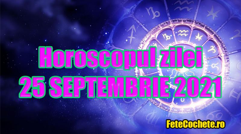 Horoscop 25 Septembrie 2021. Capricorn vor fi ajutați de cei din jur, iar Vărsători își vor atinge scopurile
