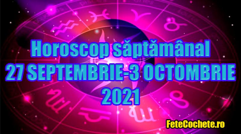 Horoscop săptămânal 27 Septembrie-3 Octombrie 2021. Vărsătorii vor avea o săptămână destul de productivă, iar Leilor li se vor întâmpla multe lucruri ciudate pe plan sentimental