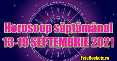 Horoscop săptămânal 13-19 Septembrie 2021. Berbecii vor avea o săptămână plină de emoții tari, iar Taurii trebuie să-și schimbe atitudinea față de anumite lucruri