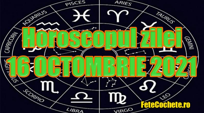 Horoscop 16 Octombrie 2021. Taurii vor avea o zi bogată de emoții, iar Gemenii vor avea o zi super productivă