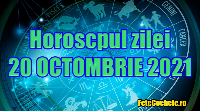 Horoscop 20 Octombrie 2021. Capricornii vor avea o explozie de emoții, iar Vărsătorii vor fi grăbiți