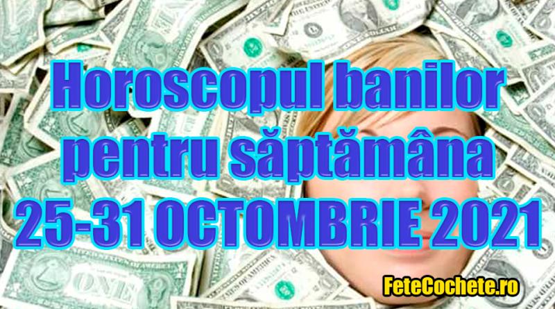 Horoscopul banilor 25-31 Octombrie 2021. Vărsătorii trebuie să fie atenți la persoanele care le propun să investească bani, iar Leii vor avea mare noroc la bani
