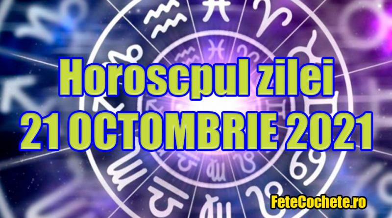Horoscop 21 Octombrie 2021. Peștii au șansa să cunoască o persoană interesantă, iar Berbecii vor petrece ziua într-o companie plăcută