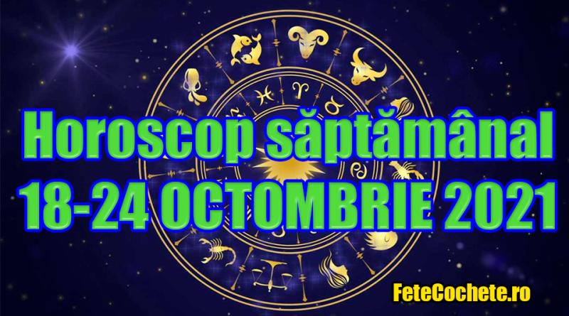 Horoscop săptămânal 18-24 Octombrie 2021. Săgetătorii vor beneficia de mai multe oportunități, iar Racii va trece printr-o schimbare financiară majoră